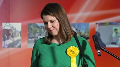 "The leader of the Liberal Democrats loses her seat saying ""nationalism is sweeping both sides of the border""."