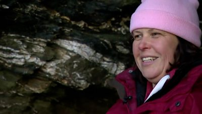 'Why I lived in a cave'