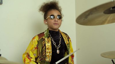 Nandi Bushell has jammed with Lenny Kravitz, and stars in one of this year's biggest Christmas adverts.