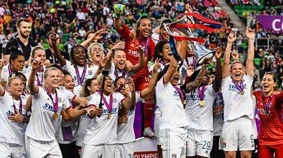 Lyon Champions League winners 2019