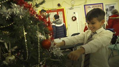 London children living in poverty get Christmas joy