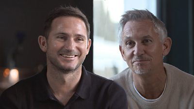 Frank Lampard and Gary Lineker