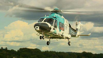 Air Ambulance Kent Surrey Sussex
