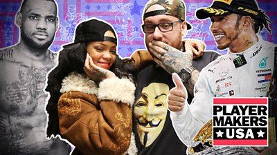The artist tattooing LeBron, Rihanna, Hamilton and Henry