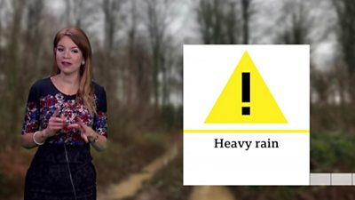 Weather warning in the South East