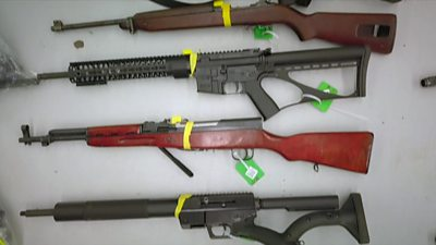 Seized guns in NZ