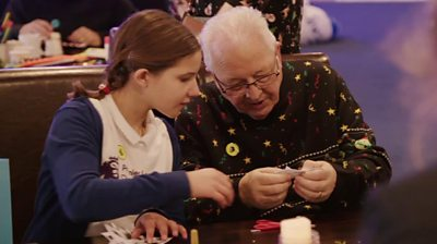 Match of the Day: Leicester City help tackle loneliness with older people