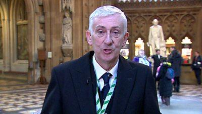 Speaker Sir Lindsay Hoyle