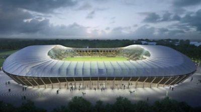 Forest Green's new stadium