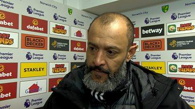 Wolves boss Nuno Esprito Santo