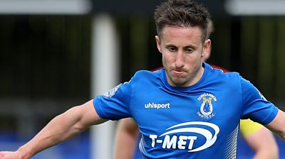 Dungannon Swifts Michael Carvill