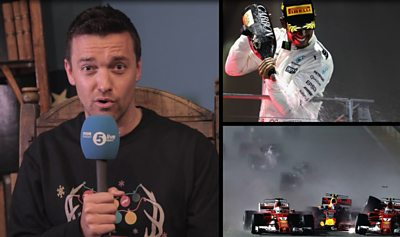 BBC Sport's F1 moments of the decade