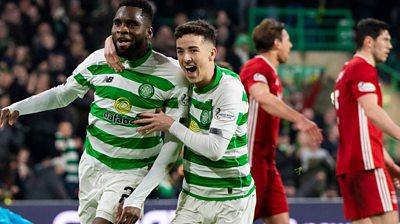 Celtic 2-1 Aberdeen