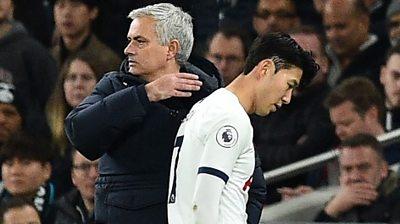 Jose Mourinho and Son Heung-Min