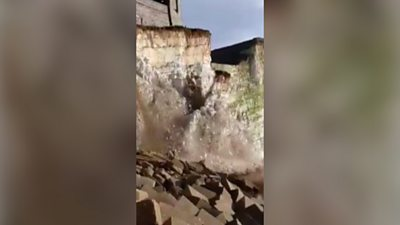 Cliff collapses at Seaford