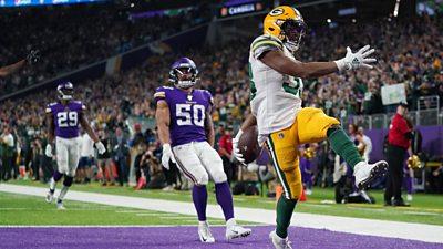 Jones run seals Packers NFC North title