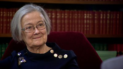 """The retiring president of the Supreme Court reflects on a momentous ruling, her career and """"that"""" spider brooch."""