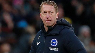 Tottenham 2-1 Brighton: Potter finds positives despite defeat