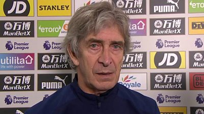 Crystal Palace 2-1 West Ham: Pellegrini disappointed with manner of West Ham defeat