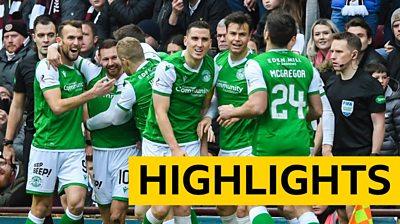 Highlights: Hearts 0-2 Hibernian