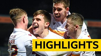Highlights: Ross County 1-2 Motherwell