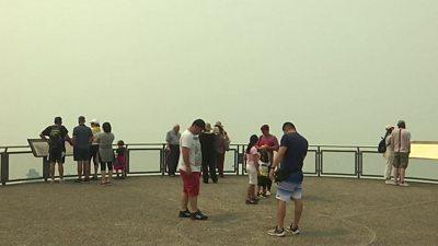 australia bushfire tourism impact