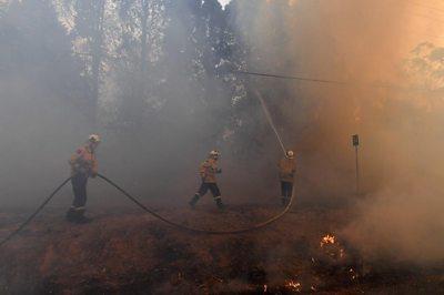 Firefighers, NSW, 19 Dec