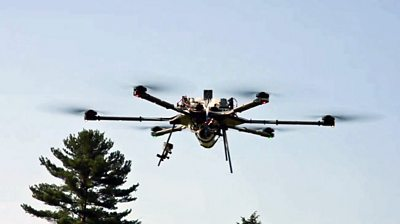 Hydrogen-powered drone