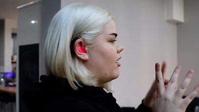 'Why I made my hearing aids bright pink'