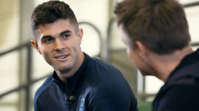 Christian Pulisic chats to Football Focus