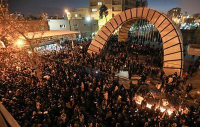 Protest in Tehran