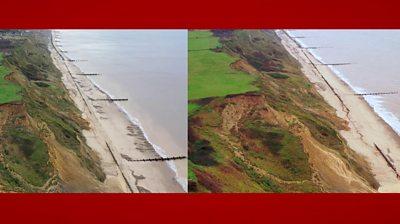 Trimingham cliff collapse