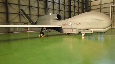Nato Global Hawk drone