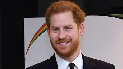 Prince Harry at UK-Africa Investment Summit in London on 20 January