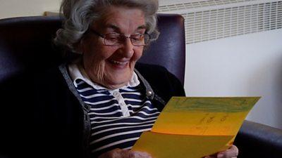 Resident reads letter