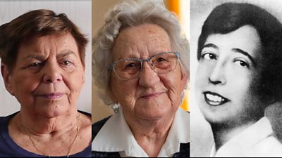 Ruth Winkelmann, Felicitas Narloch and Lilo Gloeden - three women who resisted the Nazis.