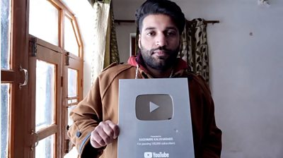 Kashmiri Kalkharabs, a popular Kashmiri YouTube channel, has been forced into silence since August.