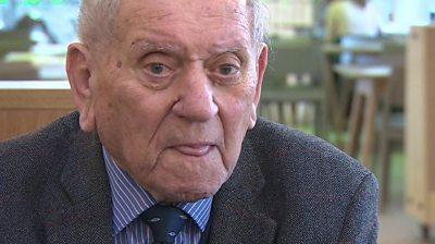 Arek Hersh, a 91-year-old Jewish holocaust survivor, talks about life in Auschwitz.