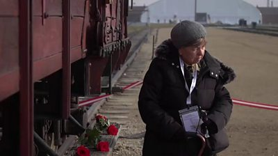 Auschwitz survivor Chaya Frish
