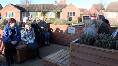 Friendly Bench brings people together