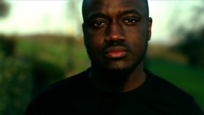 """Nii Lartey is an entrepreneur who says he was facing """"a lot of negativity and self-doubt"""". He set up a running group to deal with male depression."""