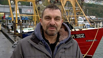 Brixham fisherman Andy McCleod