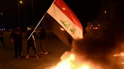 Iraqis have continued to protest following the nomination of Mohammed Allawi as prime minister.