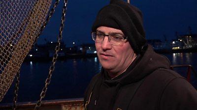 Henk Bakker, fisherman