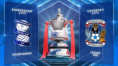 FA Cup: Birmingham City 2-2 Coventry City highlights