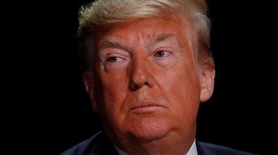 Trump Describes Impeachment Trial As Evil And Corrupt Bbc News