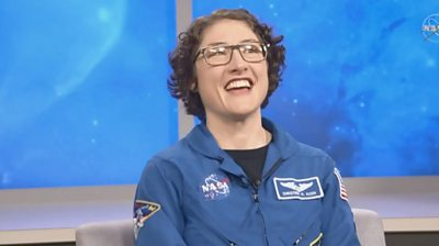 Christina Koch spent 328 days on the International Space Station and was part of the first all-female spacewalk.