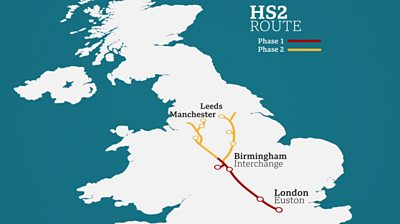 Supporters and critics give their thoughts on the government decision to build HS2.