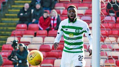 Edouard's 'remarkable' miss against Aberdeen