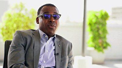Wari's executive director Amadou Diop